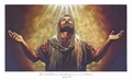 In His Presence by Jimmy Brown - Unframed Christian Art