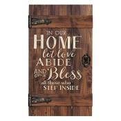 In Our Home Let Love Abide Pallet Decor - Christian Home & Wall Decor