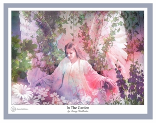 In The Garden by Danny Hahlbohm - 4 Unframed Options