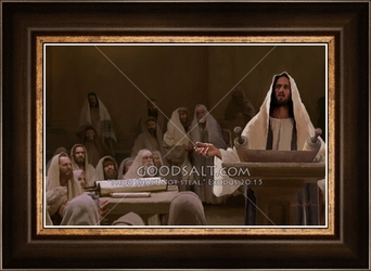 In the Synagogue by Lars Justinen - 28 Framed & Unframed Options