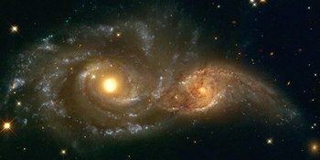 Interacting Spiral Galaxies - 2 Options Available