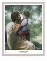Jesus And Joseph by Danny Hahlbohm - 4 Unframed Options