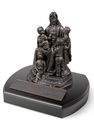 Jesus and the Children Religious Sculpture