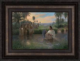 Jesus Himself Baptized by Jon McNaughton - 10 Options Available