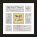 Jesus Is The Light Framed Home Decor