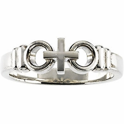 Joined by Christ Sterling Silver Ring