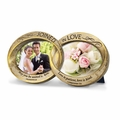 Joined In Love - Double Wedding Rings Photo Frame
