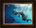 Jonah And The Whale by Lars Justinen - 28 Framed & Unframed Options