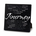 Journey Black Metal Plaque Christian Home Decor