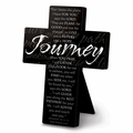 Journey Large Metal Message Cross