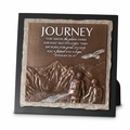 Journey Small Stone Sculpture Plaque