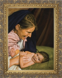 Joy of Mary by Jason Jenicke - 2 Framed Options