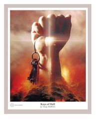 Keys of Hell by Danny Hahlbohm - 5 Unframed Options