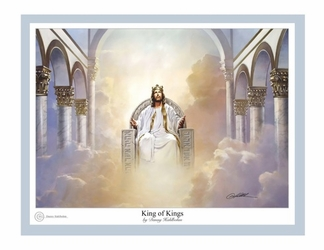 King of Kings by Danny Hahlbohm - 6 Unframed Options