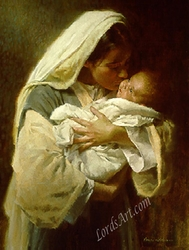 Kissing the Face of God by Morgan Weistling - 3 Unframed Options
