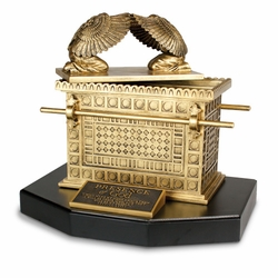 Large Ark Of The Covenant Sculpture - 14x12x10.5