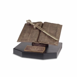 Large Word Of God Sculpture - 12x12x8 - Christian Home Decor