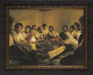 Last Supper by Jason Jenicke - 6 Framed Selections Available