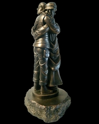 Lest We Forget Christian Art Sculpture by Timothy P. Schmalz