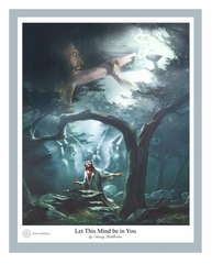 Let This Mind Be In You by Danny Hahlbohm - 4 Unframed Options