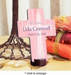 Light Of God - Pint Personalized Baptismal Cross