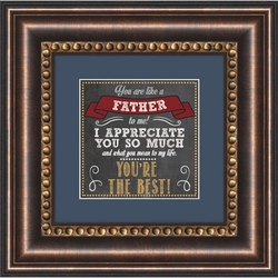 Like A Father - Framed Christian Tabletop Home Decor