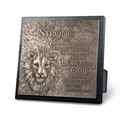 Lion Sculpture Plaque - Christian Home Decor