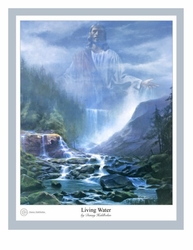 Living Water by Danny Hahlbohm - 5 Unframed  Options