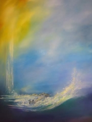 Living Waters by Anna Sophia - Unframed Christian Art