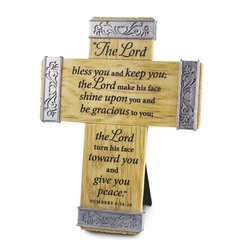 Lord Bless You Collection Cross