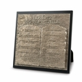LOS DIEZ MANDAMIENTOS (The Ten Commandments) Spanish Plaque