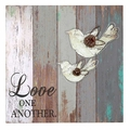 Love One Another Wood Pallet Sign - Christian Home & Wall Decor