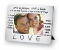 Love Pewter Polished Picture Frame