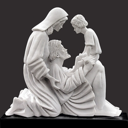 Love's Bond Christian Art Sculpture by Timothy P. Schmalz