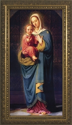 Madonna and Child by Franz Ittenbach - 2 Framed Options