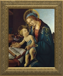 Madonna and Child by Alessandro Botticelli - 4 Framed Options