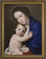 Madonna and Child (Blue Madonna) - 4 Framed Options