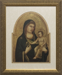 Madonna and Child (Matted) - 2 Framed Options