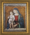 Madonna and Child - Ornate Gold Framed Christian Art