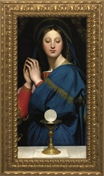 Madonna of the Host by Jean Auguste Dominique Ingres - 14 Framed Options