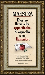 Maestra Framed Spanish Teacher Gift - 3 Frames Available