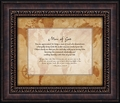 Man Of God Framed Christian Wall Decor