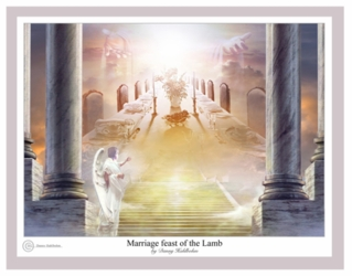 Marriage Feast Of The Lamb by Danny Hahlbohm - Unframed Christian Art