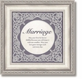 Marriage Framed Tabletop Home Decor