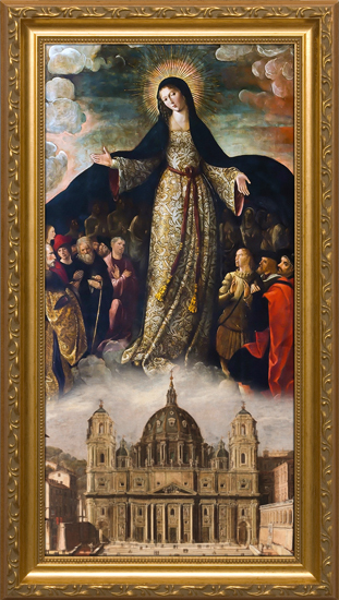 mary-mother-of-the-church-standard-gold-