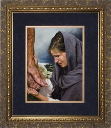 Mary's Sorrow by Jason Jenicke - 2 Matted & Framed Options