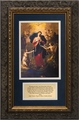 Mary, Undoer of Knots Matted with Prayers - Framed Christian Art