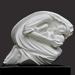 Maternal Bond Christian Art Sculpture by Timothy P. Schmalz - 2 Sizes Available