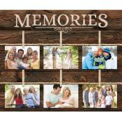 Memories Pallet Decor Photo Framed - Christian Home & Wall Decor
