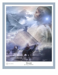 Messiah by Danny Hahlbohm - Unframed Christian Art